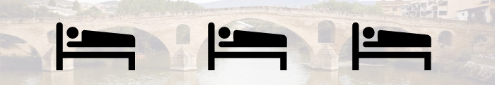 Dónde dormir en Puente la Reina-Gares